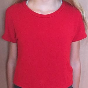(Red shirt)(size small) (from Zara)